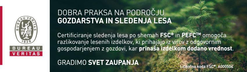 Dobra praksa na področju gozdarstva in sledenja lesa - Bureau Veritas