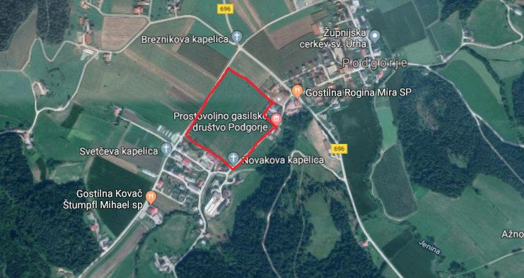 Nova lokacija dražbe lesa